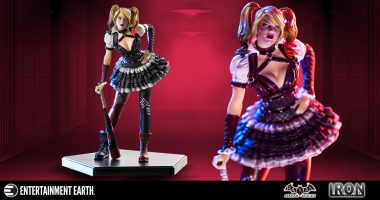 Batter Up! This Harley Quinn 1:10 Scale Statue is a Home Run