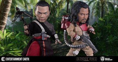 The Force is with These Chirrut and Baze Egg Attack Action Figures
