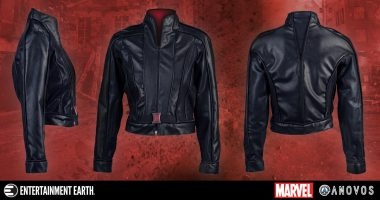 Stylish Black Widow Costume Jacket