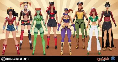 DC Bombshells Action Figures Are on the Way