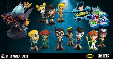 These Cryptozoic Entertainment Collectibles Pack A DC Comics Punch