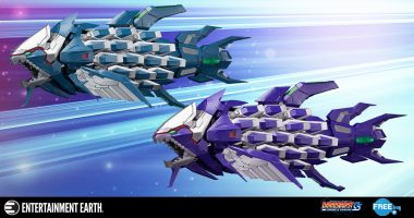 Iron Fossil and Knight Fossil Battleship Figures bring Dariusburst Home!