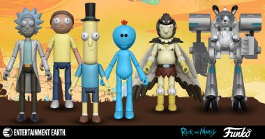 Rick and Morty Action Figures Are Here