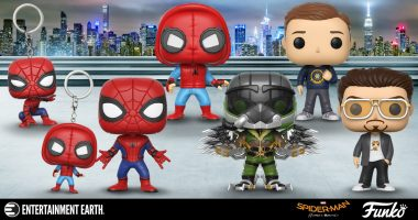 Spider-Man: Homecoming Pop! Figures Swing In