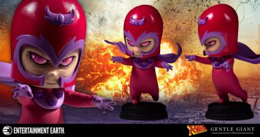 Baby Magneto Gets Animated in This Gentle Giant Statue