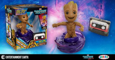 This Groot Is Ready to Rock. Obviously.