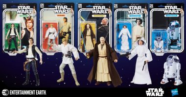 Celebrate Star Wars' Biggest Birthday yet with 40th Anniversary 6-Inch Action Figures