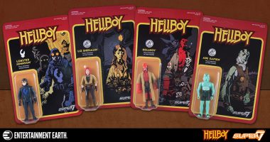 Retro Hellboy Action Figures are Hot