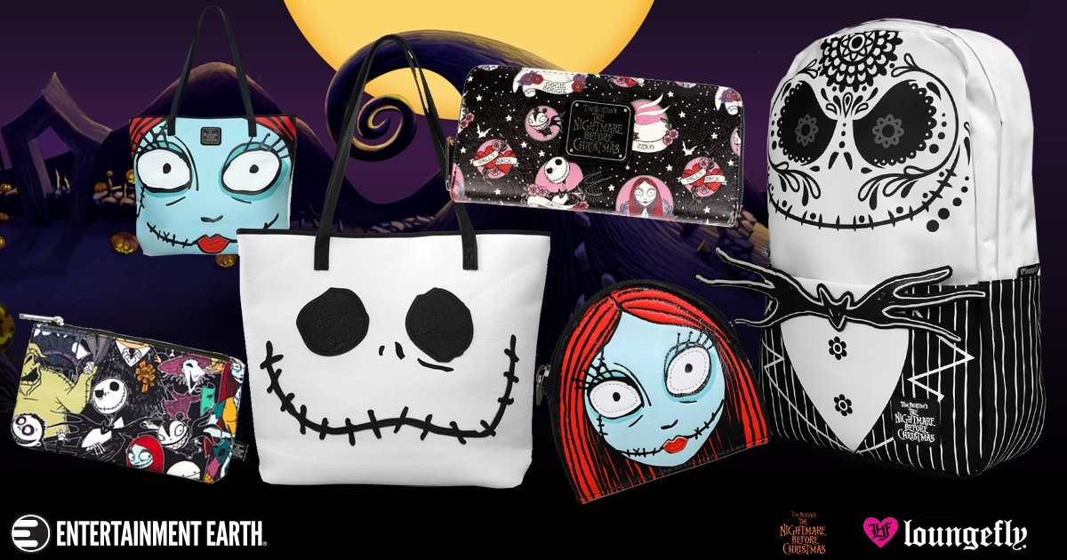 Loungefly's Got It in the Bag with Their Line of Nightmare Before ...