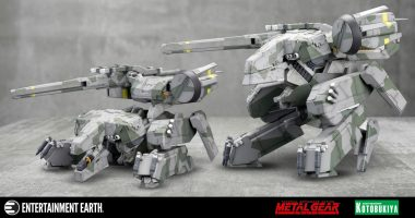 Break out the Modeling Glue, This Metal Gear Solid Collectible Isn't Going to Build Itself!
