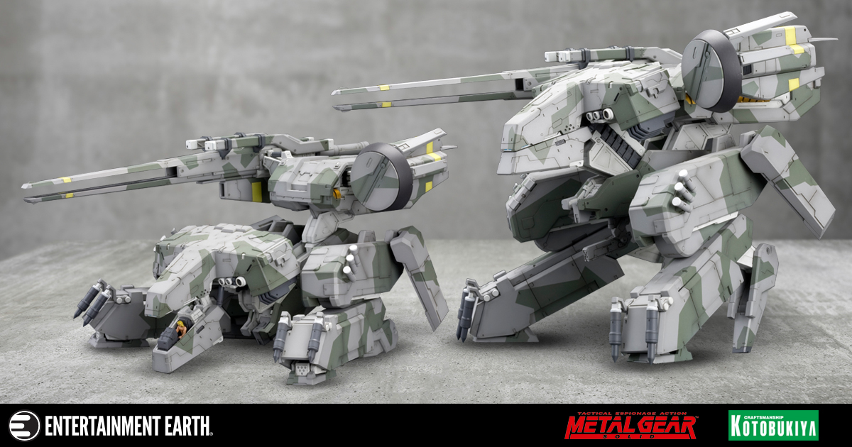 Break Out The Modeling Glue This Metal Gear Solid Collectible Isn T Going To Build Itself