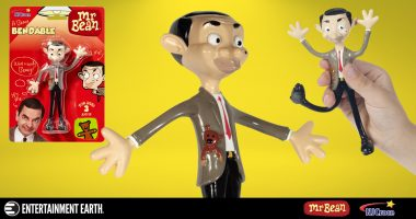 Mr. Bean Is Now a Beany Bendable