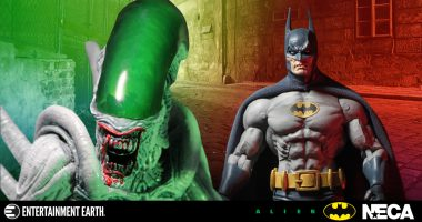 It's Batman vs. Alien in This New Action Figure 2-Pack