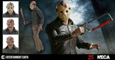 Jason is Back from The Dead as the Ultimate Action Figure