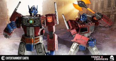 More than Meets the Eye! Transformers: Generation One Optimus Prime Premium Action Figure
