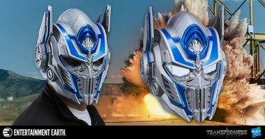 Lead the Autobots with This Optimus Prime Voice-Changer Helmet