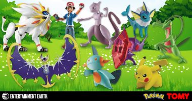 Fill Your Pokedex With These Tomy Pokemon Figures