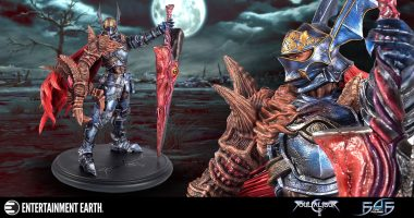 Soulcalibur II Statue is a Real Nightmare