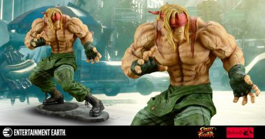 This Street Fighter III Alex Statue is Striking