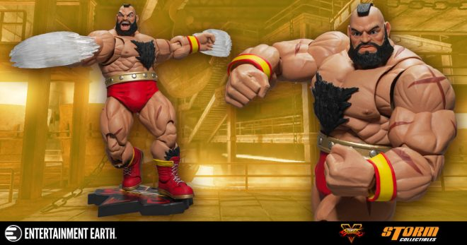 You Will Submit To This Zangief Action Figure