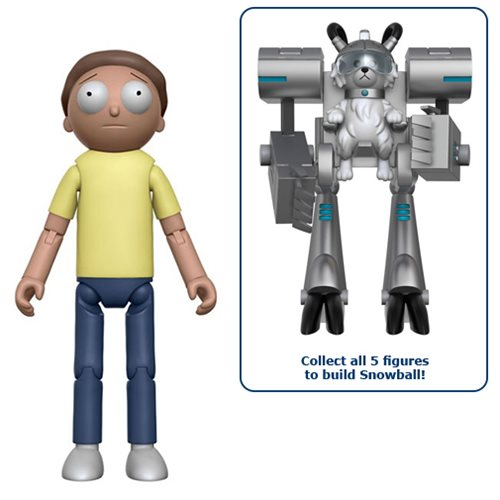 Rick and Morty 5-Inch Action Figure
