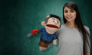 Take on the Evil Dead with Your Own Ashy Slashy Puppet