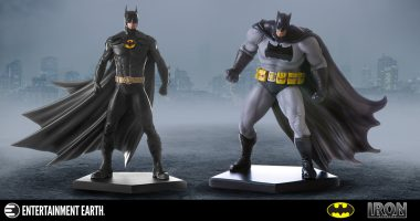Two Dark and Brooding Batman: Arkham Knight Statues from Iron Studios