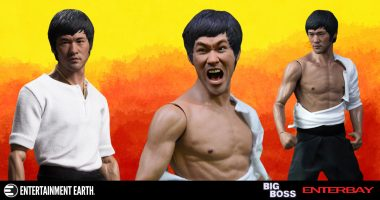 Bruce Lee is Ready for Action