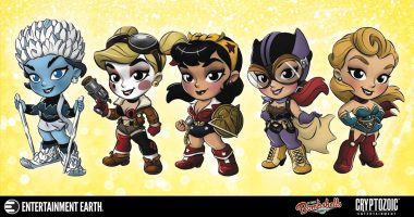 The Bombshells Are Back as Pint-Sized Mini-Figures