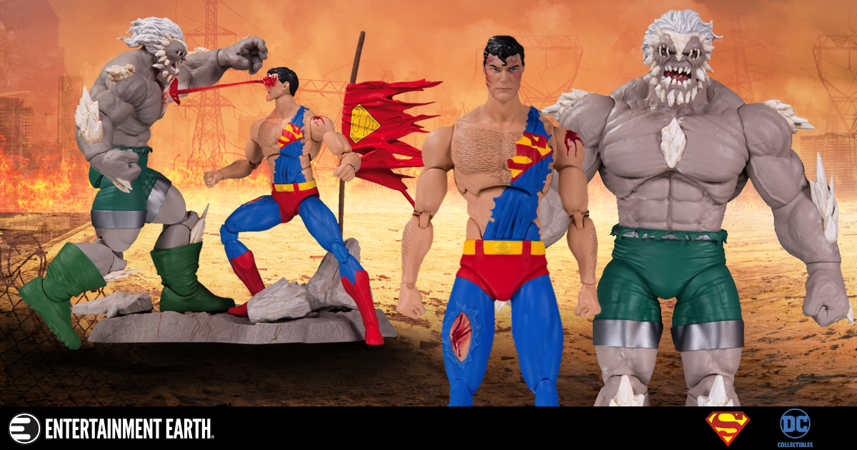 25 Years Later It S Still Doomsday For Superman With This Dc