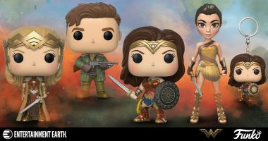 Funko Wonder Woman Figures Have All the Power, Grace, Wisdom, Wonder You Can Handle