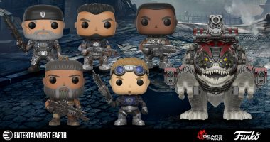 Celebrate over 10 Years of Gears of War with These New Pop! Vinyl Figures