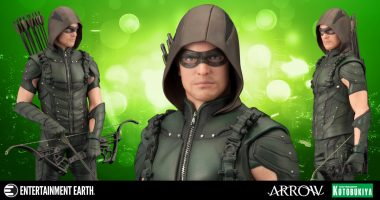 New Arrow TV Series Green Arrow Statue from Kotobukiya
