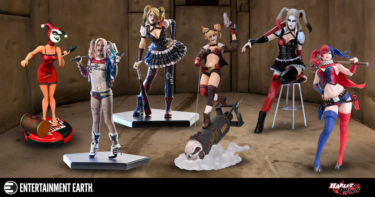 These Harley Quinn Statues Are Dressed To Kill