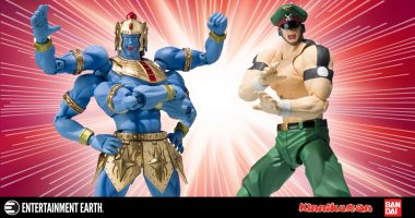 New Kinnikuman Figures Fight for the Throne