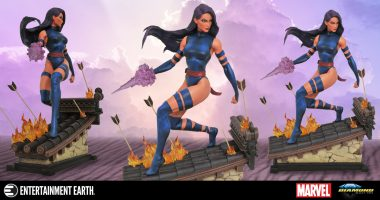 Psylocke Lets the Roof Burn