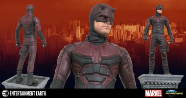 This Daredevil Statue Will Stand Guard Over Hell's Kitchen