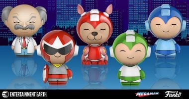 Funko Gets Nostalgic with These Mega Man Dorbz