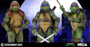 Righteous! Leonardo Joins the TMNT 1:4 Scale Action Figures!