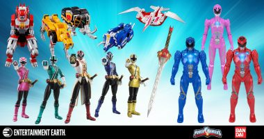 Take a Trip into the past with These Power Rangers Collectibles