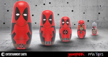 Deadpool Nesting Dolls Have Hatched!