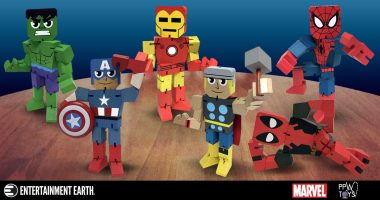 New Marvel Wood Warriors Bring the Nostalgia