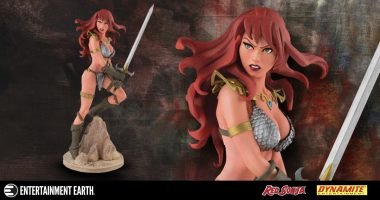 Red Sonja Scales New Heights in This Colorful Statue