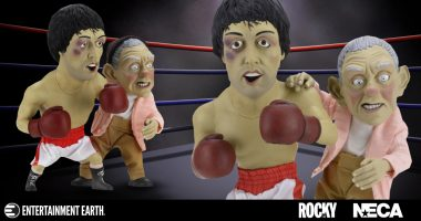 Rocky and Mickey Get Brisk in This Maquette 2-Pack