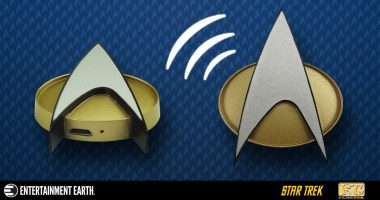 Open Your Hailing Frequencies with the Star Trek: The Next Generation Bluetooth Communications Badge