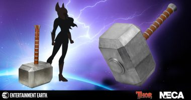 Drop The Giant Thor Hammer!