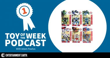 Toy of the Week Podcast: Transformers Robots in Disguise Warriors