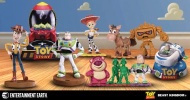 Travel to Infinity and Beyond with These Toy Story Egg Attack Statues – Preview Exclusives!