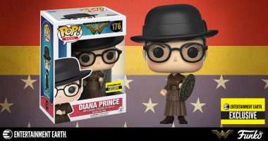 This Disguised Diana Prince Pop! is an Entertainment Earth Exclusive!