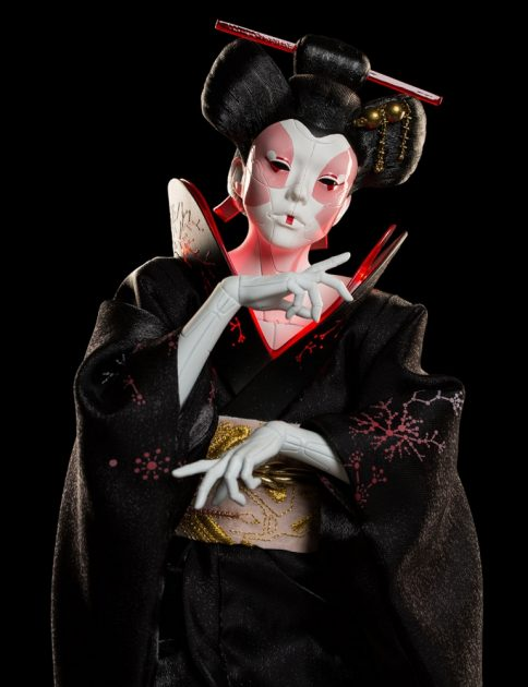 Ghost in the Shell Geisha 1:4 Scale Statue